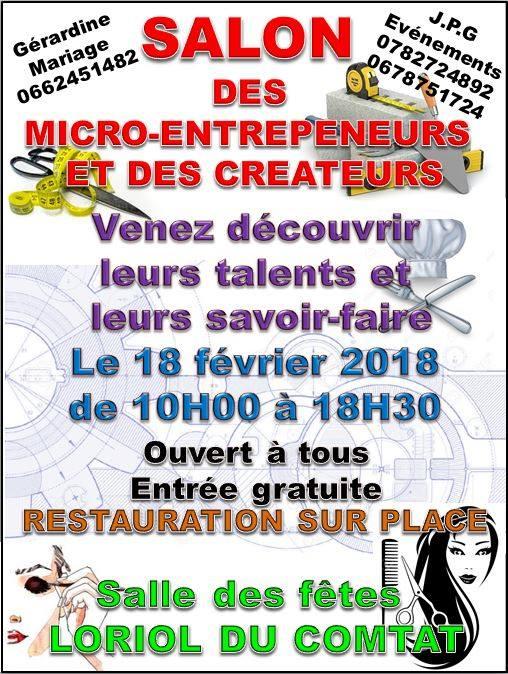 Salon des micro entreprises et des cr ateurs p 39 tit - Salon micro entreprises ...